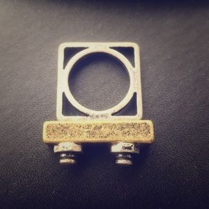 Jewelry - Square industrial style ring